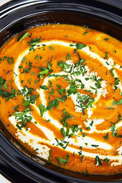 Crock-Pot Butternut Squash Soup - Delish.com