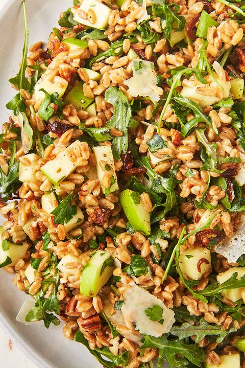 farro salad   delishcom