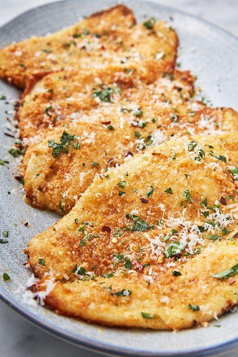 Garlic Parmesan Flounder - Delish.com