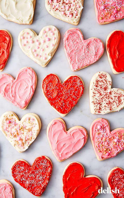 heart cookies   delishcom
