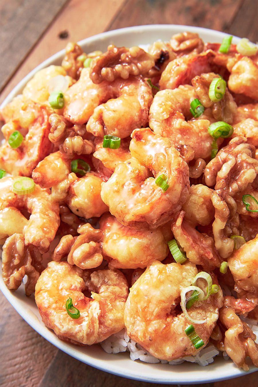 Honey Walnut Shrimp - Delish.com