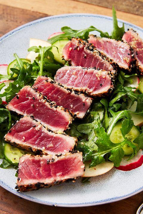 seared ahi tuna   delishcom