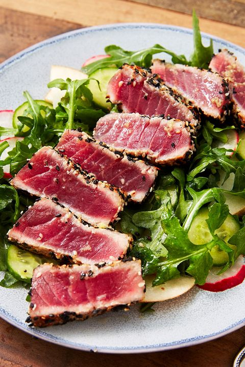 seared ahi tuna   delishcom