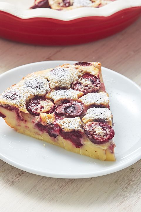 Cherry Clafoutis - Delish.com