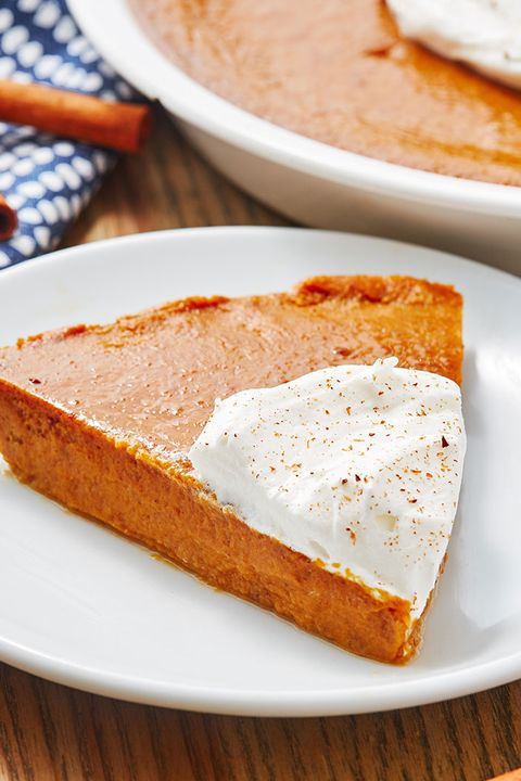 Crustless Pumpkin Pie - Delish.com