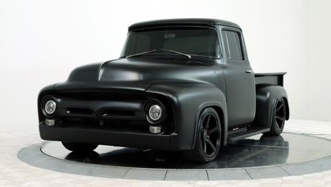 Land vehicle, Motor vehicle, Car, Vehicle, Pickup truck, Bumper, Automotive design, Truck, Classic car, Automotive wheel system,