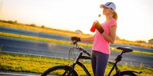 Correr es mejor que la bicicleta para los huesos
