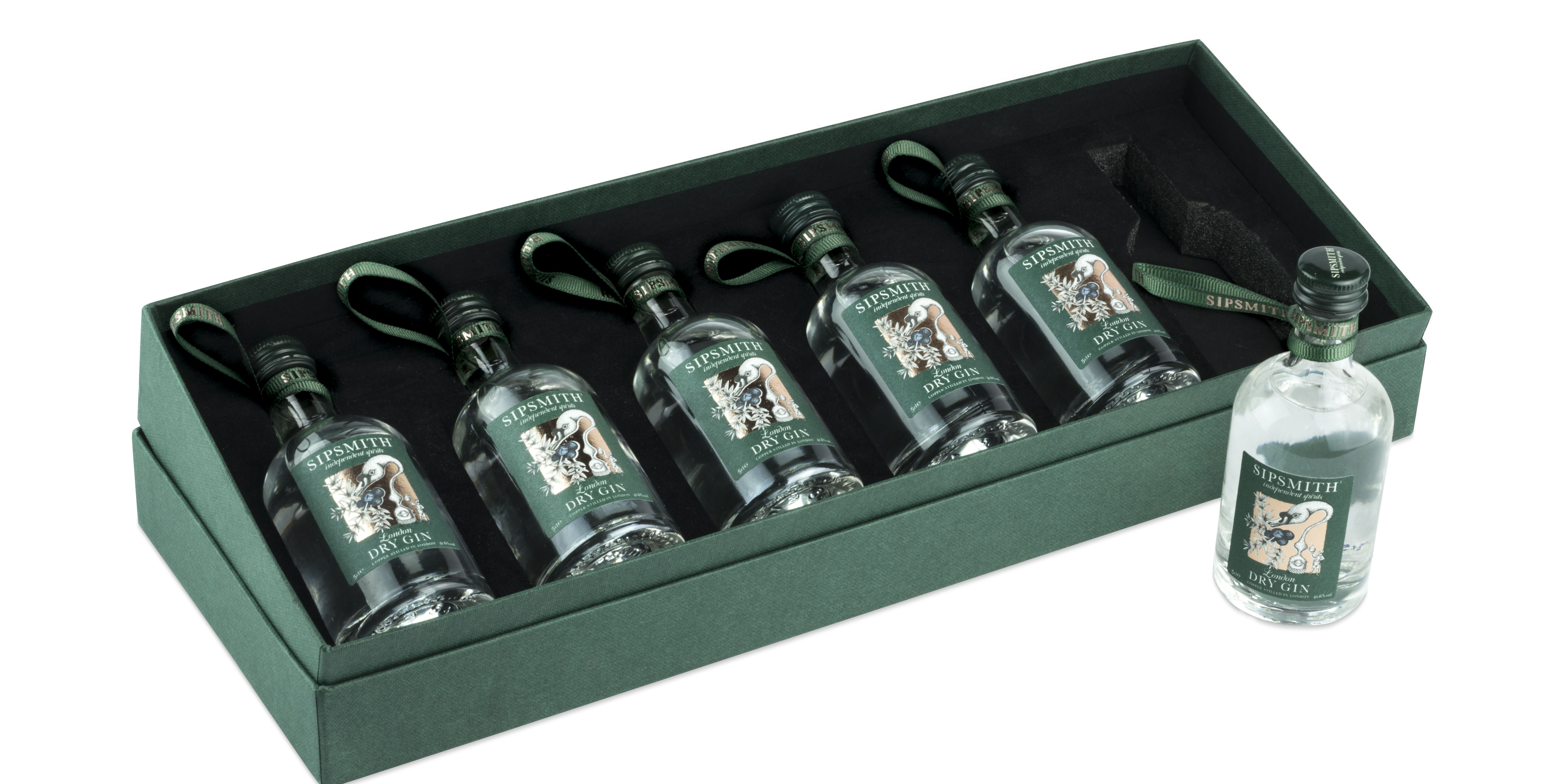 Sipsmith Chirstmas baubles