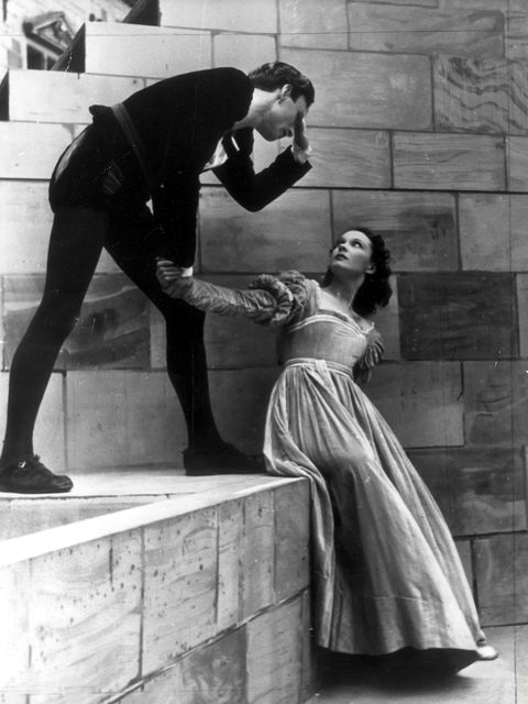sir laurence olivier with vivien leigh