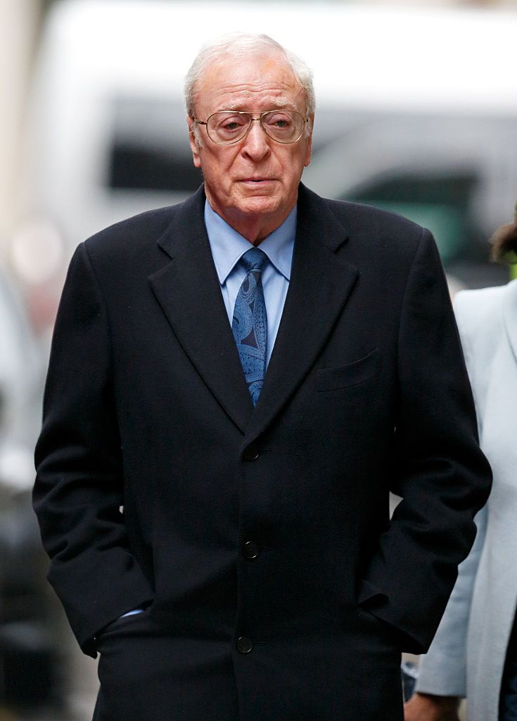 """Michael Caine at 83 Rachel Weisz once joked that the proper way to pronounce this Brit's name is to say """"my cocaine."""" Sorry, we mean """"Sir, my cocaine."""""""