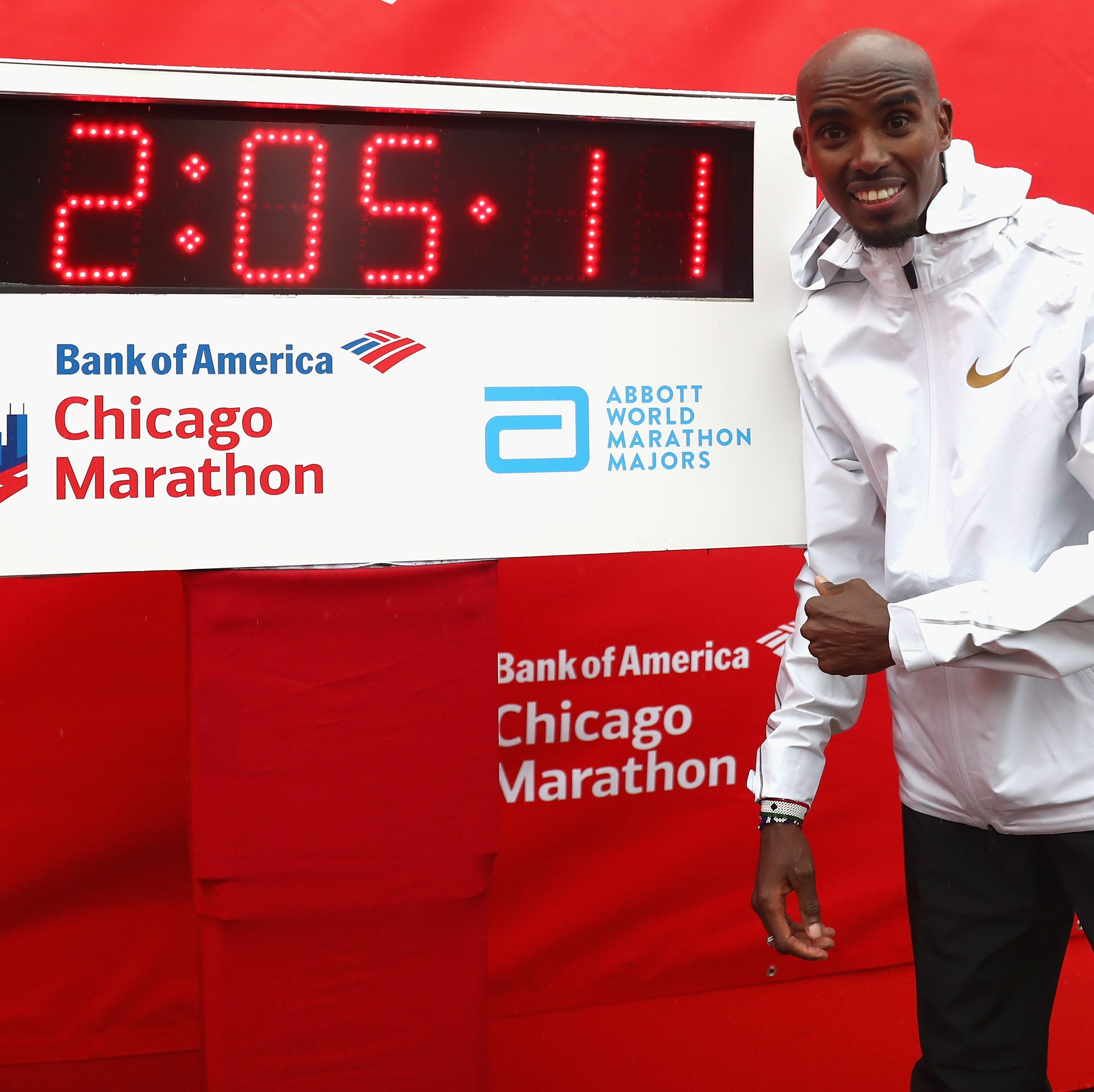 Farah to defend his title at Chicago Marathon