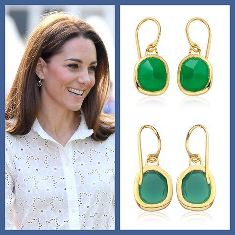 Kate Middleton Wears Monica Vinader