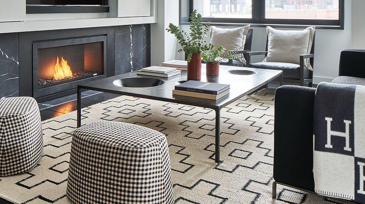 Un apartamento dramáticamente moderno en pleno Nueva York