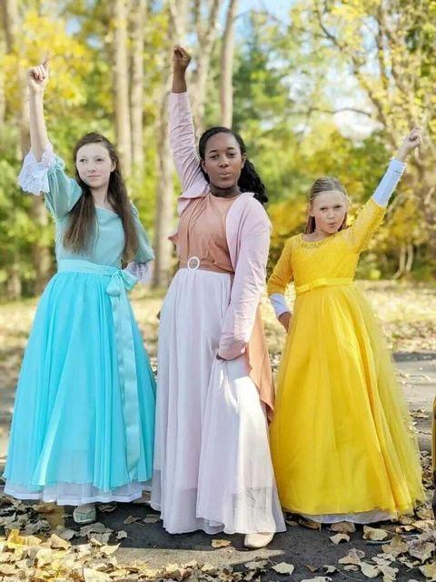 schuyler sisters halloween costume