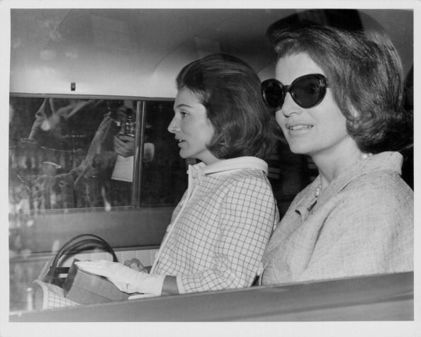 Jacqueline Kennedy And Princess Radziwill