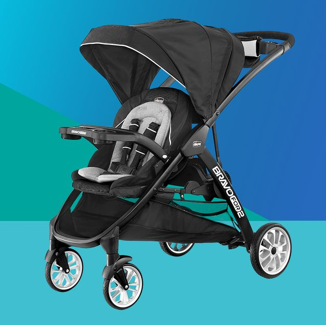 chicco bravofor2 le standing sitting double stroller