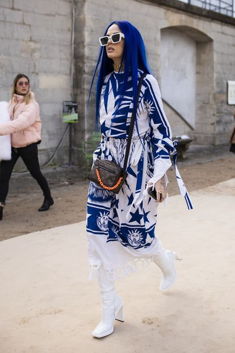 Street Style - Paris Fashion Week - Menswear F/W 2019-2020 : Day Three
