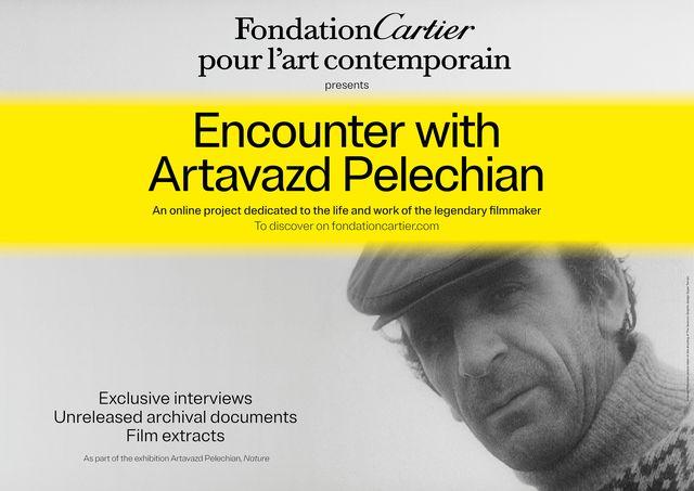 カルティエ現代美術財団のオンラインプロジェクト「アルタヴァスト・ペレシャンとの出会い」