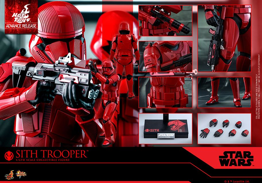 'Star Wars: el ascenso de Skywalker': así son los Sith trooper