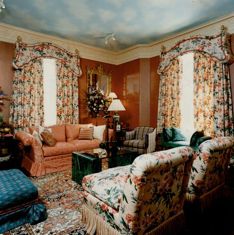 Brown's bedroom: A sitting room designed by Edward Welker interiors Ltd. Was orginally George Brown'