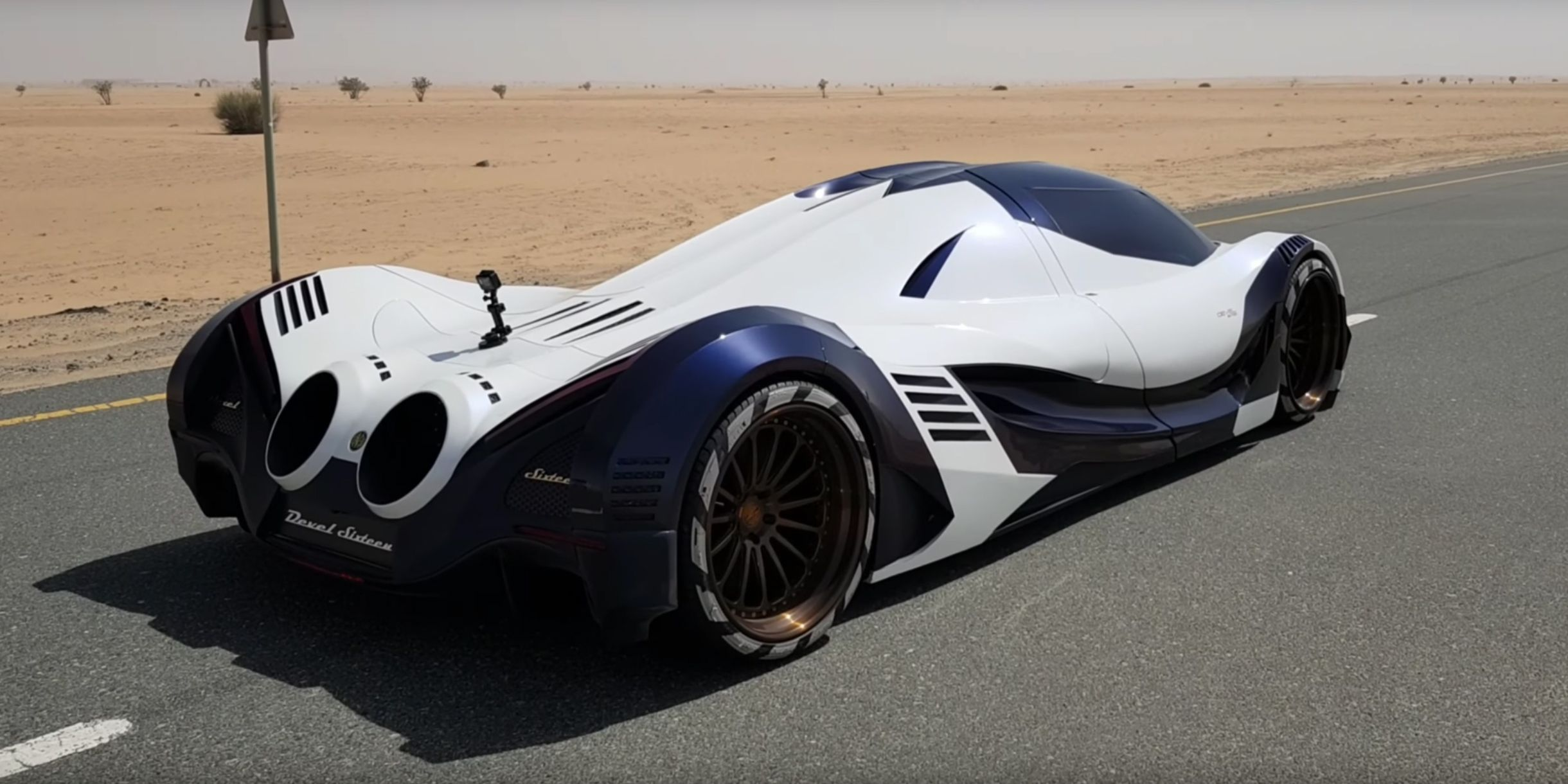 5000-HP Devel Sixteen Seems Slightly More Real in New Video