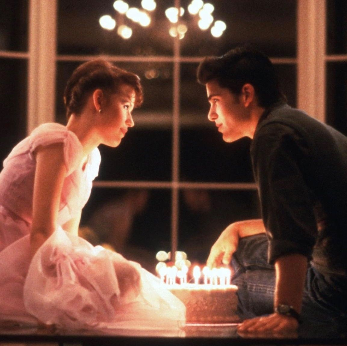 Sixteen Candles Molly Ringwald's first outing as writer-director John Hughes's muse sees her playing the eternally angsty Sam, who pines for the high school hunk, avoids a lovelorn geek, and resents her family for forgetting her 16th birthday.
