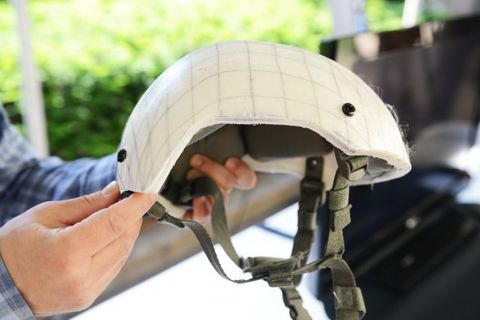 The Army's New Plastic Helmet Weighs Less Than 3 Pounds