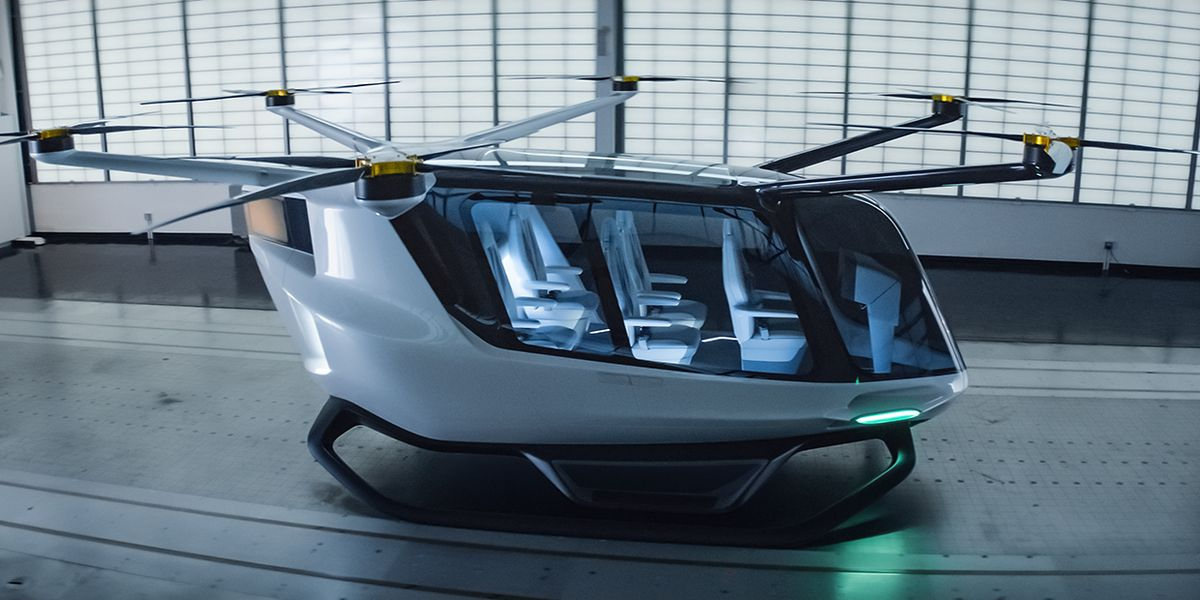 Could This Hydrogen-Powered Drone Be the Future of Transportation?