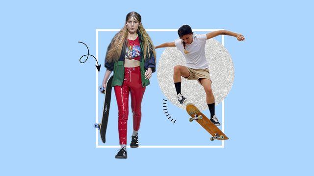 mujeres skaters