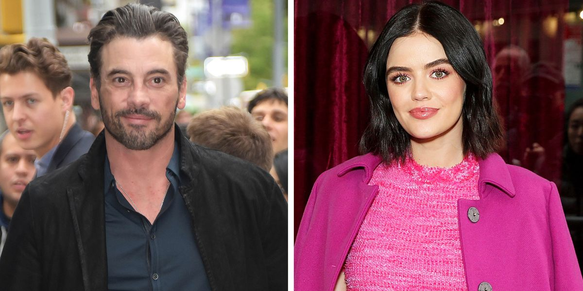Yes, Lucy Hale and Skeet Ulrich Really Are Dating. Here's What Their 'Very New' Relationship Is Like