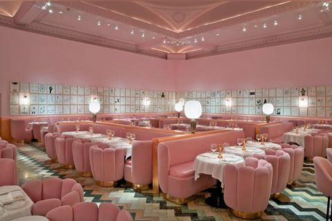 Function hall, Decoration, Pink, Banquet, Building, Interior design, Ceiling, Party, Room, Event,
