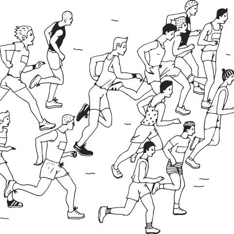 are runners born or made?