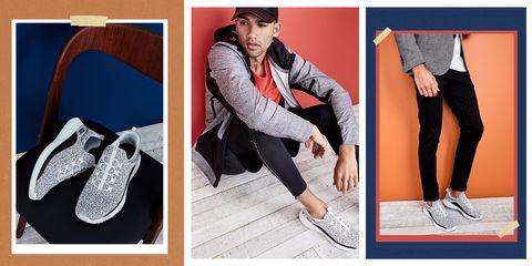 Footwear, Clothing, Shoe, Plimsoll shoe, sweatpant, Outerwear, Leg, Tights, Ankle, Leggings,