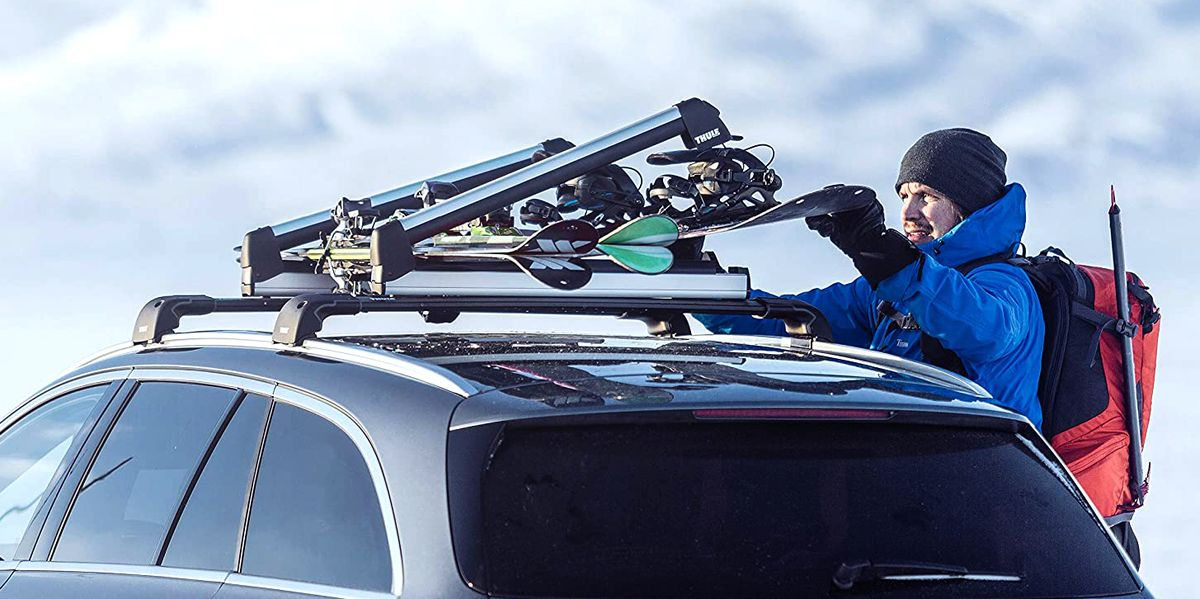 keep you car s interior clean and dry with a roof mounted ski rack