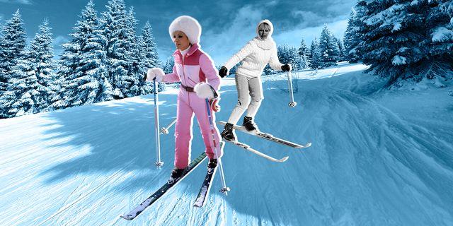 skiing getty