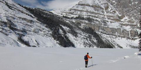 Cross country skier (credit Alex Hutchinson).
