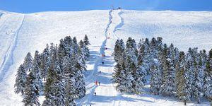 Wintersport in Griekenland