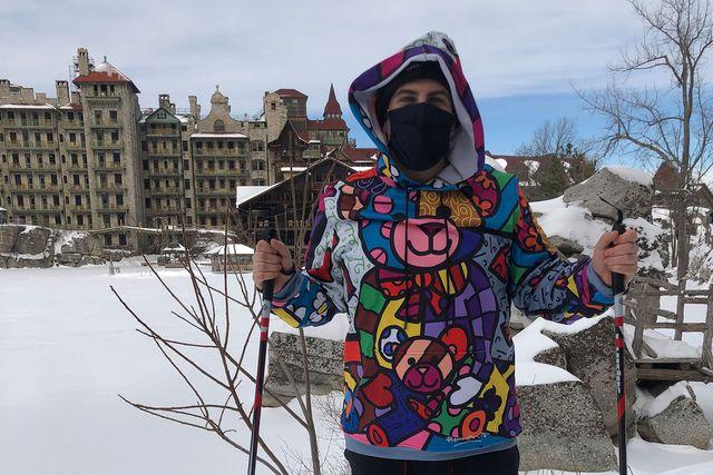 skiing at mohonk