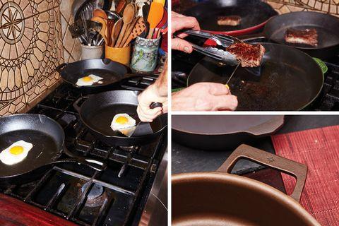 Frying pan test