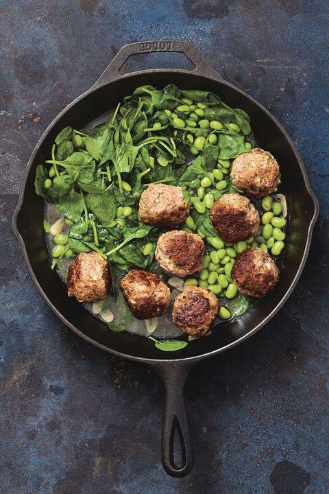 Make Ahead Meals - Skillet Meatballs Recipe