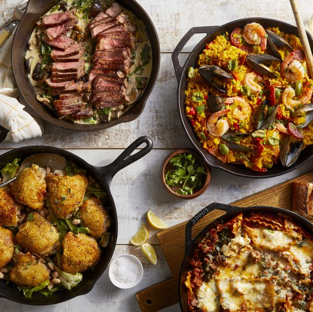 four skillet suppers