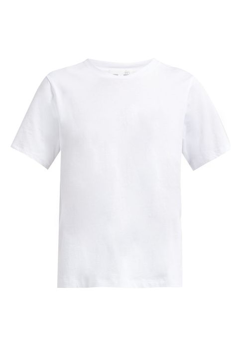 Camiseta de algodón sabine pima de piel.