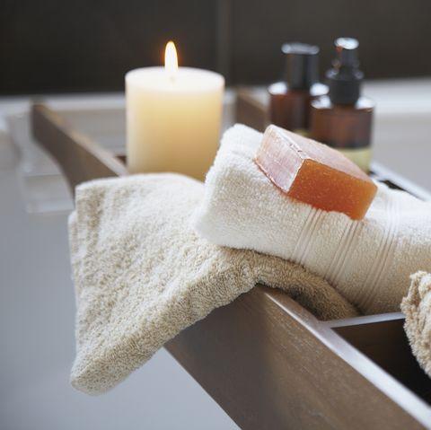 Skin care bath products