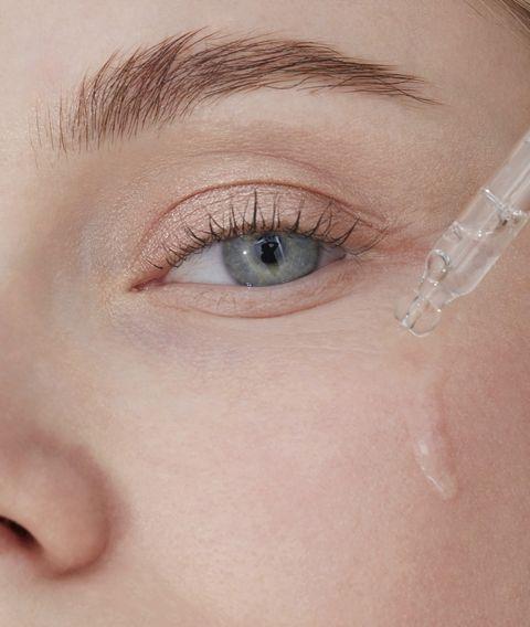 skin care hydration, close up