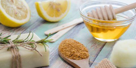 honing citroen kaneel zeep zelf scrub maken