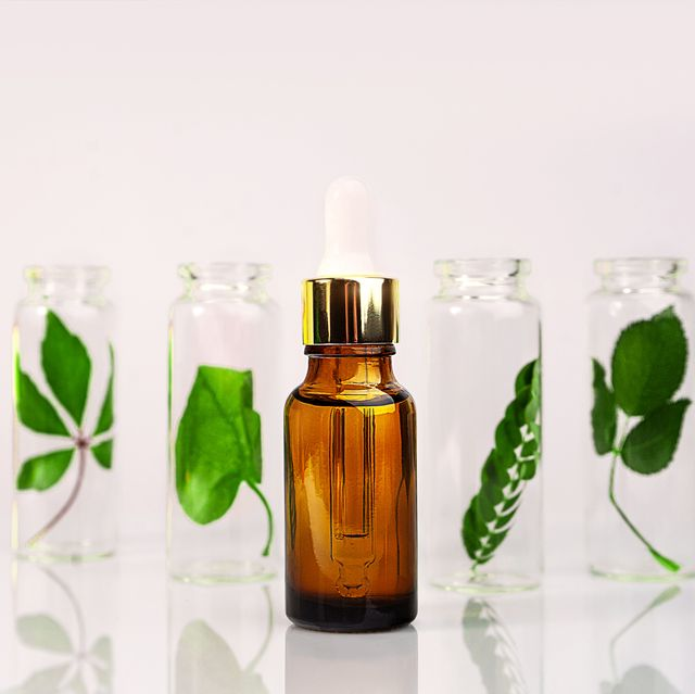 skin care product, natural cosmetic natural skincare bottle with serum