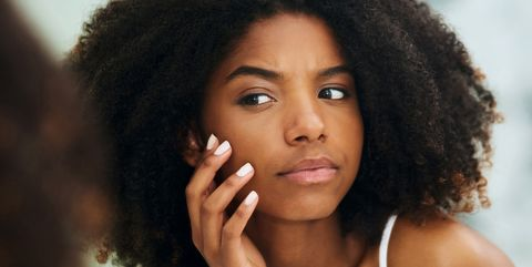 Hair, Face, Hairstyle, Lip, Skin, Black hair, Eyebrow, Beauty, Afro, Nose,