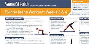 Skinny Jeans Workout Weeks 3&4