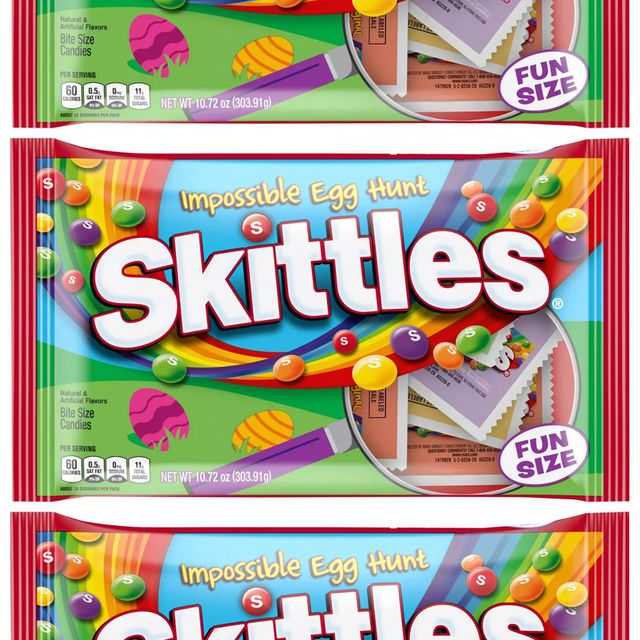skittles impossible egg hunt easter candy