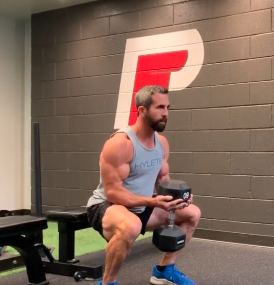 Squat And Curl In 1 Movement To Build Lower And Upper Body Muscle
